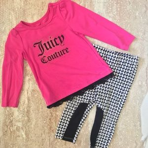 Juicy Couture set 18months